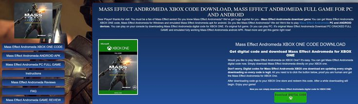 MASS EFFECT ANDROMEDA DOWNLOAD PC, MASS EFFECT ANDROMEDA XBOX ONE CODE and APK We'd like..  http://gamestips.online/lets-play-mass-effect-andromeda-pc-xbox-one/