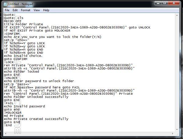 Cara Mengunci Folder pada Windows tanpa Software Tambahan