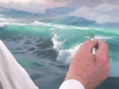 How To Paint Tropical Beach Complete Video Acrylic Painting Class Demonstration - YouTube