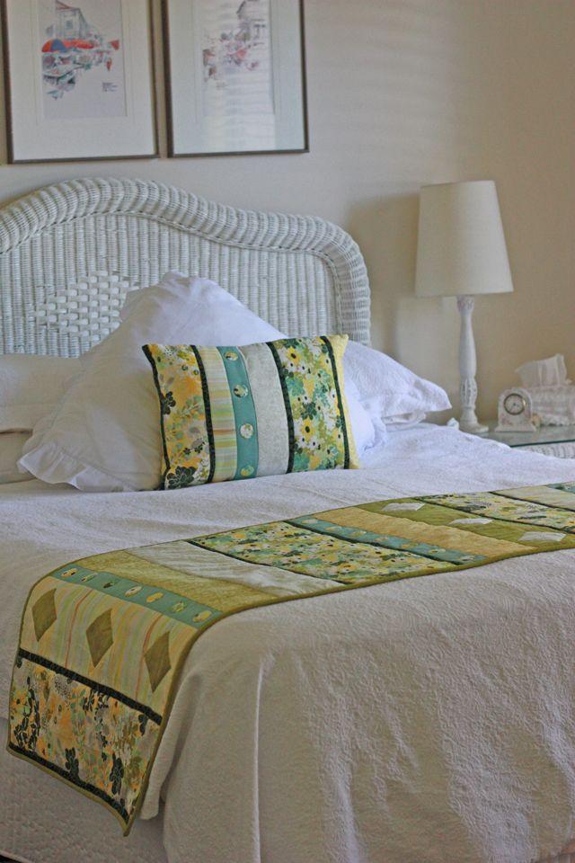 Quilt Fabric Delights Creative - QFD Creative - Origins Bed Runner