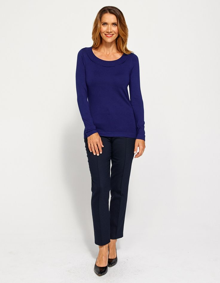 Georgie Scoop Sweater - From JacquiE