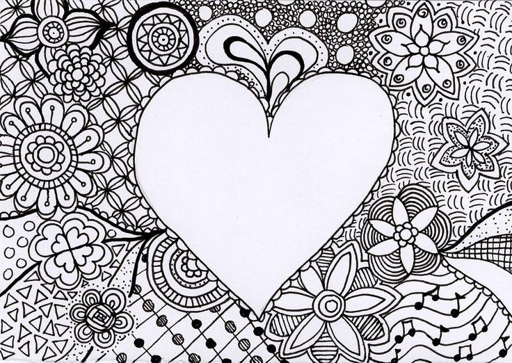 Handgemaakte Zentangle tekening van Zen met NEI  #zentangle #vlinder #tekening #ZenmetNEI