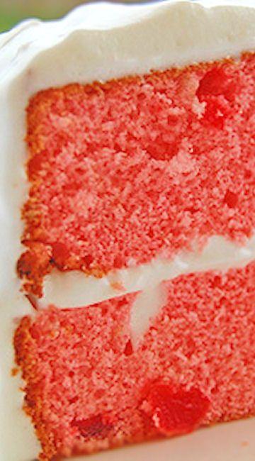 Maraschino Cherry Cake