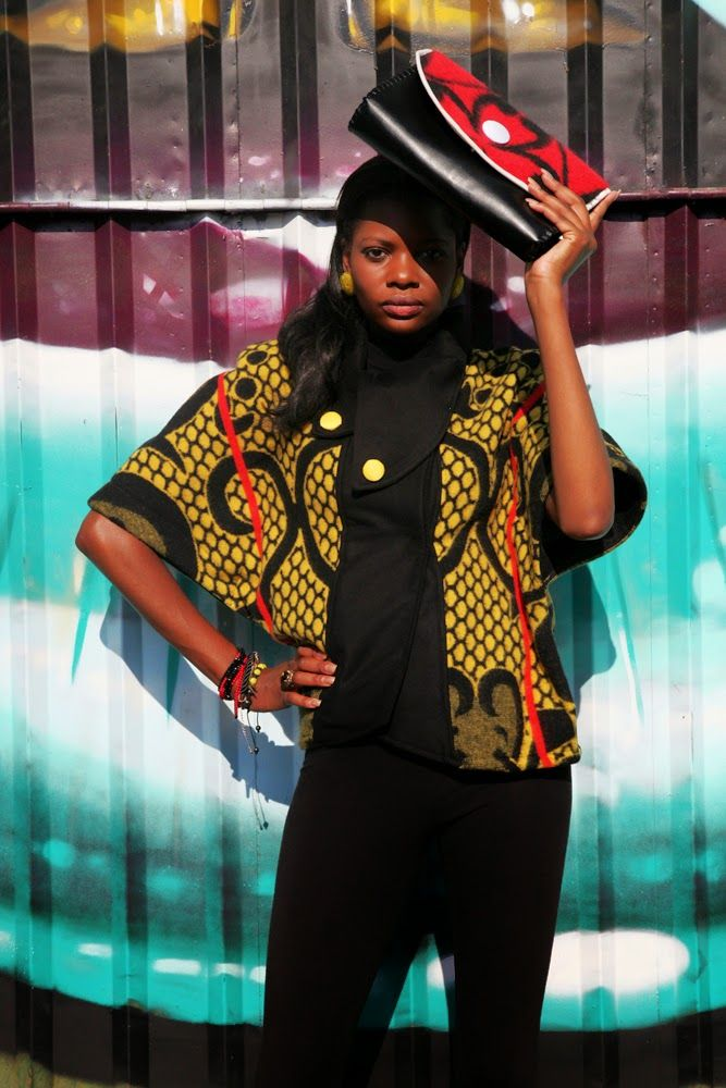 """African Prints in Fashion: """"Beautiful, Sopisticated, African"""": Thabo Makhetha"""
