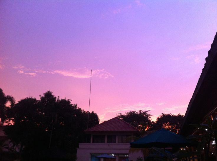 #sunset #jakata #sky