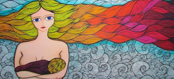 MELINA LIOI ARTISTA PLÁSTICA, Artista plástica argentina, art brut, naif, abstractos, pop art, arte moderno, surrealismo