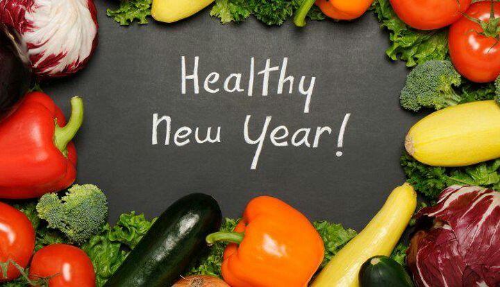 Have a healthy New Year! #eatyourveggies #healthynewyear