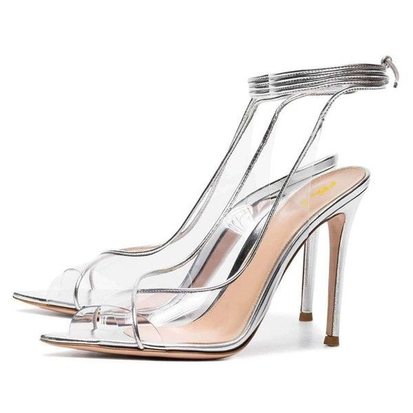 Womens Ladies Party Sandals High Heel Strappy Wedding Bride Going Out Shoes Size