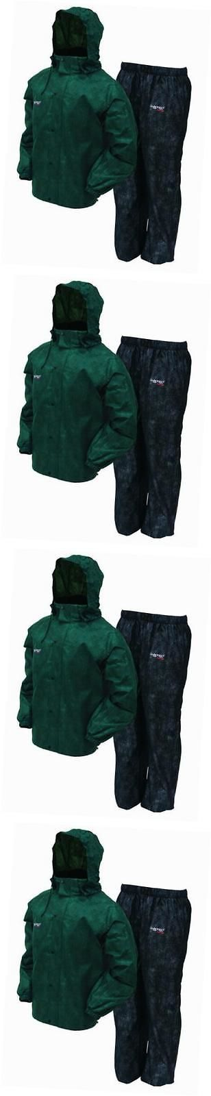 Jacket and Pants Sets 179981: As1310-109Xl All Sport Rain Suit, Xl, Green Black -> BUY IT NOW ONLY: $52.33 on eBay!