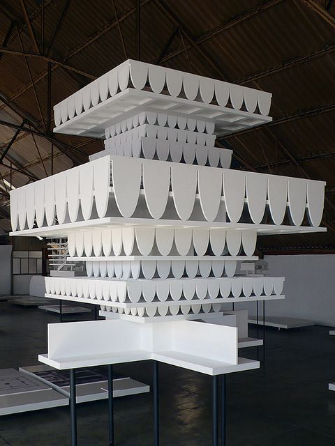 Project for the Perm Museum XXI (Perm, Russia) by Valerio Olgiati, 2008