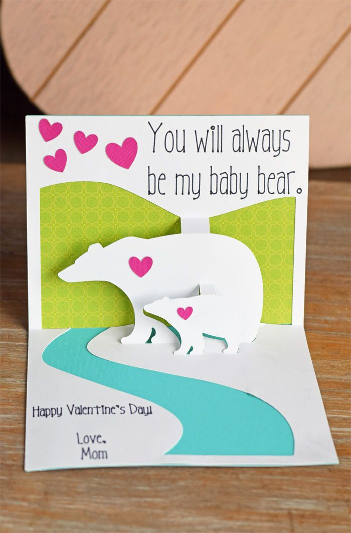 Make A Cute Pop Up Card With The Cricut Scoring Wheel And Cricut Maker Ad Cricutmade Pop Up Cards Cricut Cards Cricut Crafts