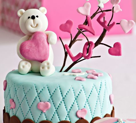 eat cake, love bear :)