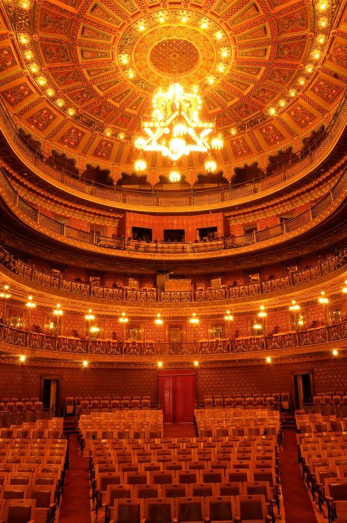 Interior Teatro Juarez