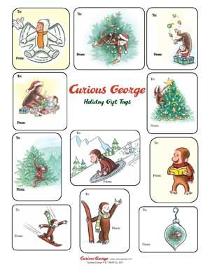 Curious George Holiday Activity Book