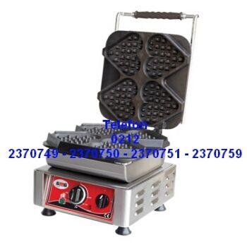 Endüstriyel Waffle Makinaları Satışı 0212 2370749 - Kalpli Waffle Makinesi 0212 2370750