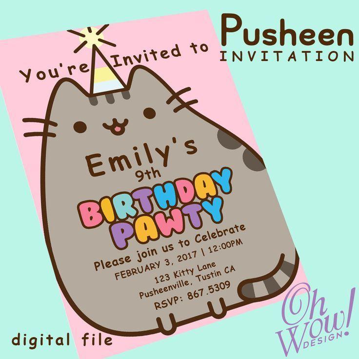 Best 25+ Pusheen Birthday Ideas On Pinterest