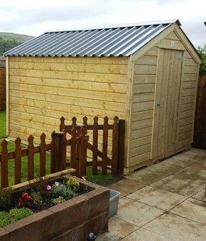 mcd custome garden sheds dublin ireland