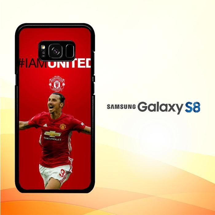 ibrahimovic manchester united Z39670 Samsung Galaxy S8 Case