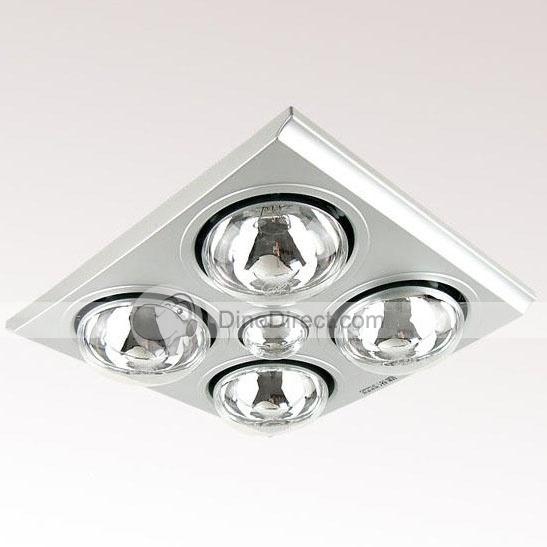Extractor de techo para baño con luces  RD $2,500.00 ✭: Bathroom With, Overhead, Techo Para, Bath