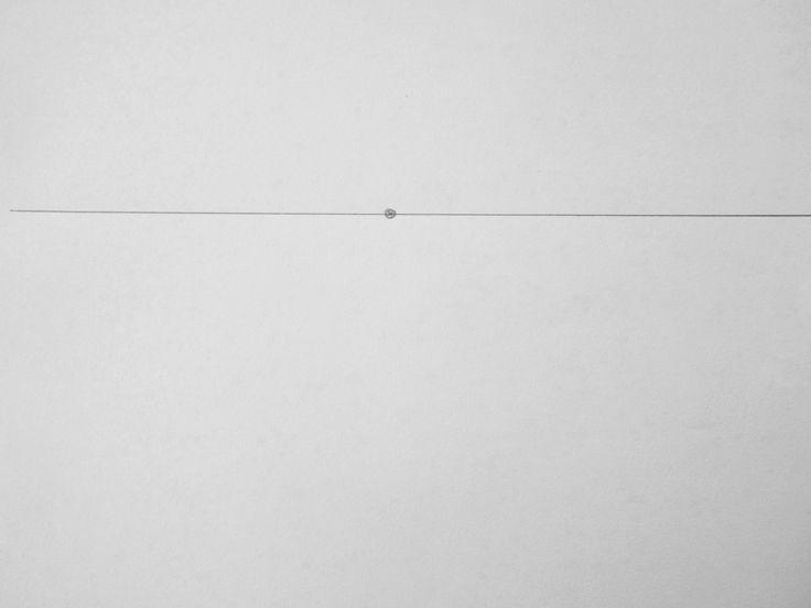 Fluchtpunktperspektive mit einem Punkt: Straße zum Horizont – Zeichnen lernen, Howto Draw
