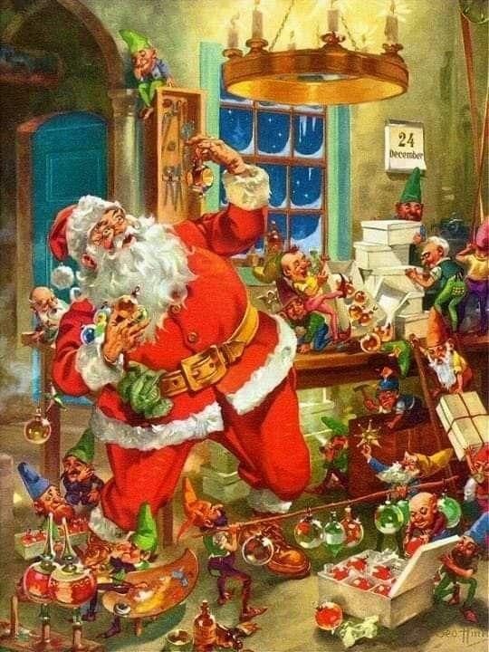see santa clauss workshop - 540×720