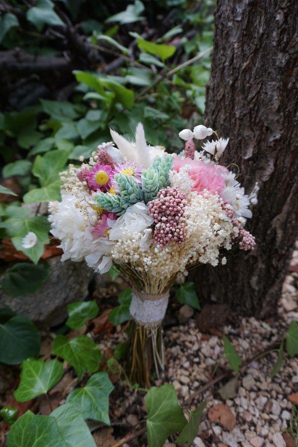 Ramo preservado estilo bouquet
