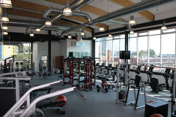The Gym At The Citrix Sharefile Division Headquarters In Raleigh North Carolina Gym Yoga Studio Workplace