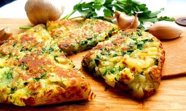 Garlic potatoes # favorite recipes cooking food