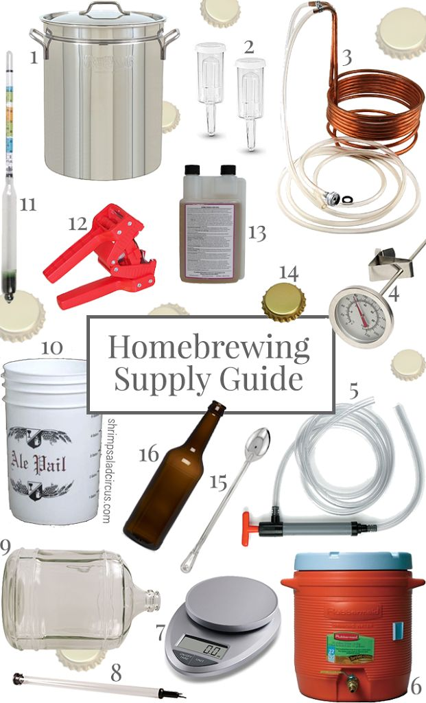 Most of the homebrewing supplies you'll need to brew a batch of beer can be found at your local homebrew shop or craft beer store, or there's always Amazon!