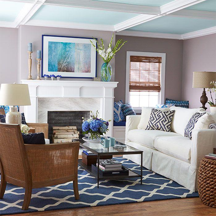 Living Room Color Schemes: 73 Best Spotted: Valspar Color Images On Pinterest