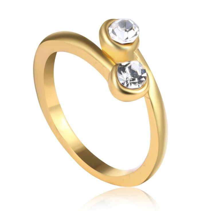 Купить товарДвойной Камень Кольца Стекируемые Камень Кольцо Два Камня золотое Кольцо Пары Кольцо для женщин в категории Кольцана AliExpress.         двойной Камень Кольца Стекируемые Камень Кольцо Два Камня золотое Кольцо Пары Кольцо для женщин