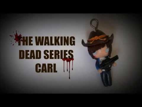 The Walking Dead Series - Carl - Polymer Clay Tutorial - YouTube