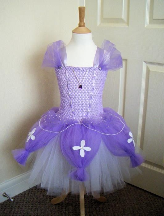 Princess Sofia Inspired Tutu Dress, £47.00