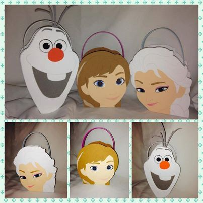 disney frozen inspired party favor bags / etsy: titaspartycreations
