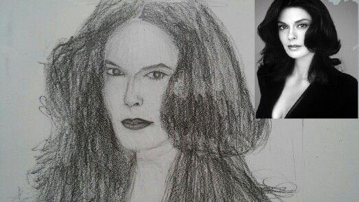 Teri Hatcher art :)