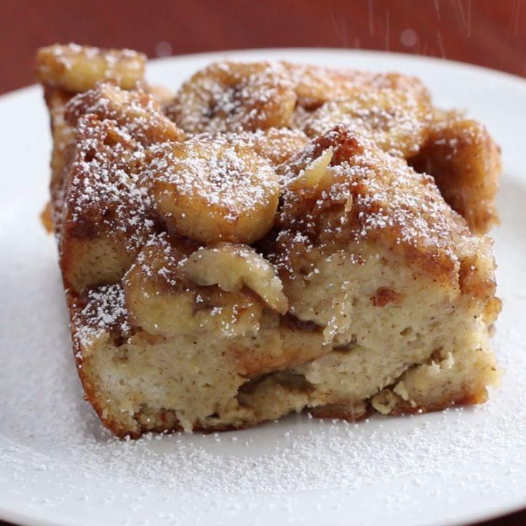 IG/pinterest: kemsxdenyi Banana French Toast Bake