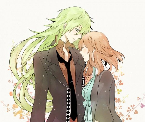 I prefer anime boys with long hair but short hair is okay toElizabeth Spratt