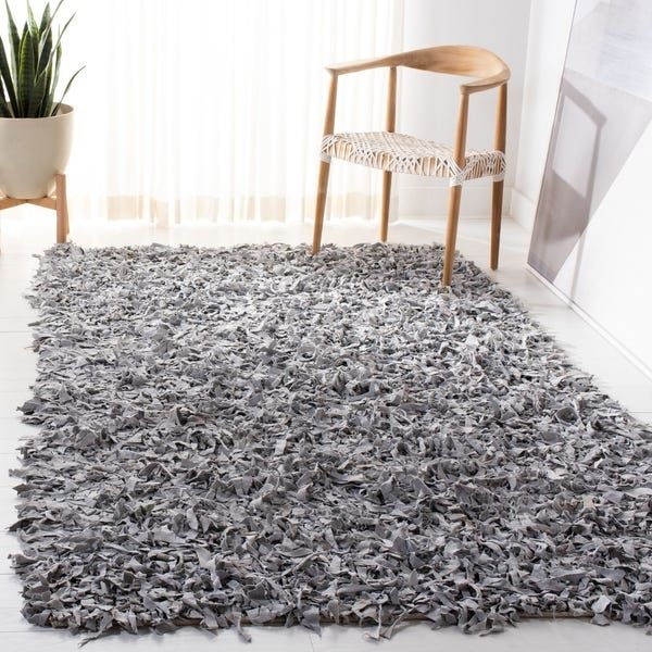Overstock Com Online Shopping Bedding Furniture Electronics Jewelry Clothing More In 2020 Leather Shag Rug Rug Decor Rugs