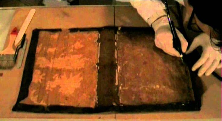 Restauro del libro - Metodo fiorentino