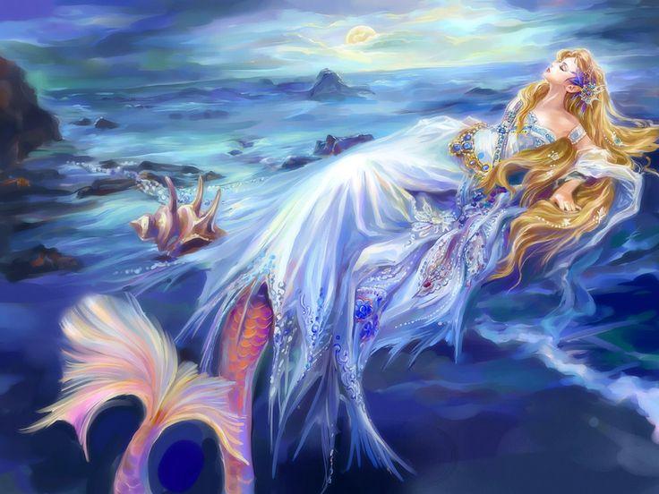 Mystical mermaid Fantasy / Illusion Pinterest