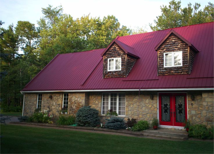 17 best images about our favourite metal roofing jobs on pinterest medicine metals and birdhouses - Long lasting exterior paint design ...