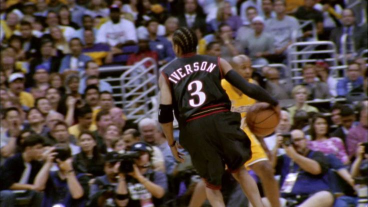 Allen Iverson vs Los Angeles Lakers: 2001 NBA Finals Game 1 Full Highlig...