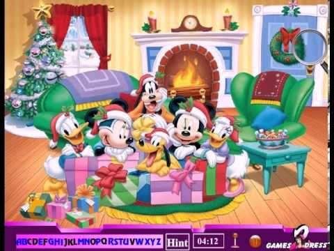 Mickey Mouse Hidden Alphabet Game