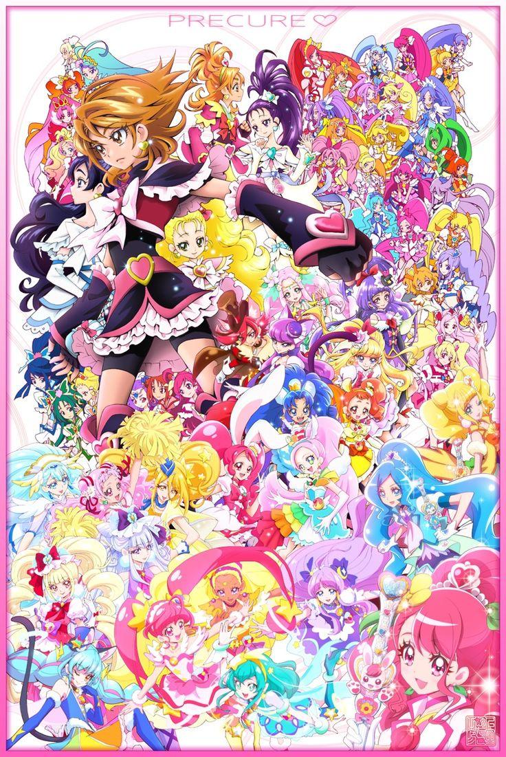 上北ふたご On Twitter Pretty Cure Magical Girl Anime Smile Pretty Cure
