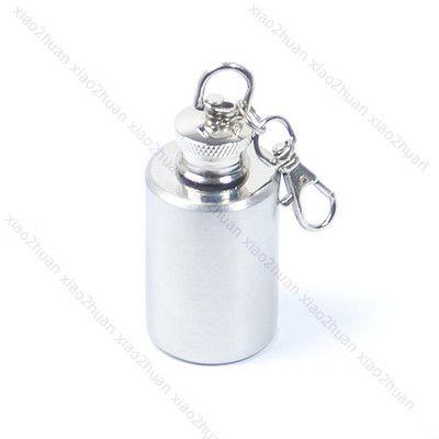 E74 мини нержавеющей стали алкоголь колбу ликеро бутылки