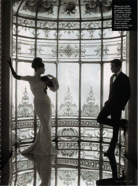 Mario Casas y Blanca Suarez en Vanity Fair - El barco - Series de televisión