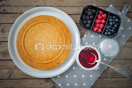 Sponge Cake Top View — Stock Image #107071616 #dessert #sweetsphotos #foodphotography #cakes #pastry #cuisineblogs #ricettedolci #dessertsrecipes #sweetsrecipes #cakesrecipes #Depositphotos