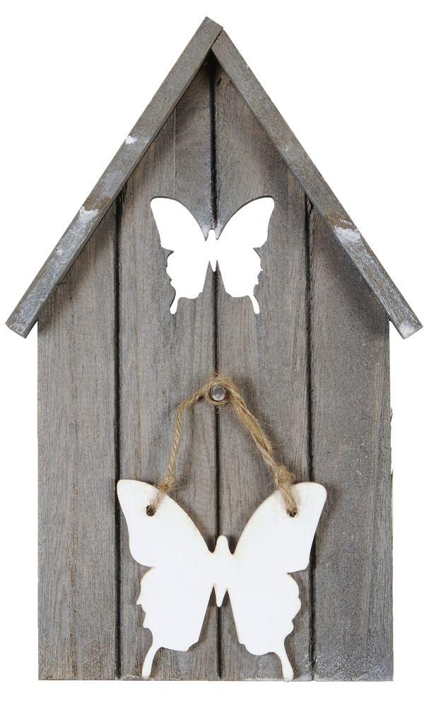 Vogelhuisje Vogel: leuke decoratie voor aan de muur #leenbakker #terrasideeen