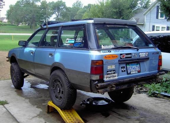 Subaru Loyale Gl Wagon | Girdwood Brewery | Pinterest ...
