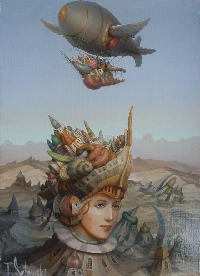 ArtGalery ° PERSONALART.PL tytuł: Fantastyczna podróż/Fantastic journey autor: Tomasz Sętowski personalart.pl/...